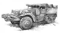 obrněný vůz, americká armáda, 2. světová válka