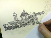 Pohled na kresbu