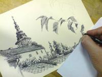Finále kresby