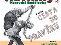 Plakát na Sokolské šibřinky Moravské Budějovice