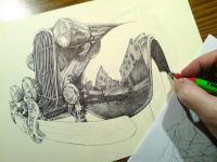 kresba - autoveterán