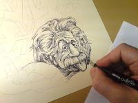 Einstein - perokresba