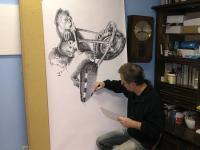 TAXI pro opilce - kresba