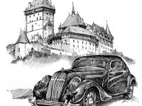 Auto veterán Škoda