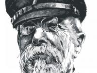Tomáš Garrigue Masaryk - perokresba