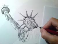 Socha Svobody - Statue of Liberty