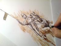 Svatý Václav - kresba