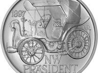 NW Präsident - Stříbrná pamětní medaile
