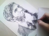 Václav Klement - kresba
