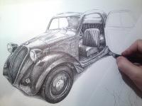 Fiat Topolino 1937, licence Simca