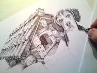 Změna stylu šrafování - beagle