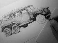 Tatra 82 - perokresba