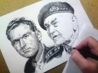 Jaroslav Klemeš - perokresba