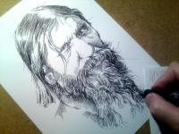 Rasputin - perokresba