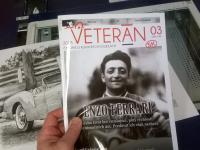 Březnové číslo časopisu Veteran SK