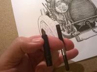 Bugatti 13 - perokresba