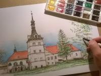 Zámek Uherčice - omalovánky