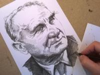 Jaroslav Vojta - perokresba