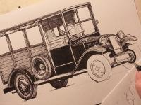 Tatra 13/30 (1926) - perokresba