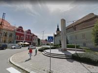 Moravské Budějovice - na náměstí.