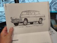 Ford Anglia - časopis Veteran SK