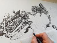 Yamaha - perokresba