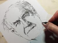 Thomas Alva Edison - perokresba