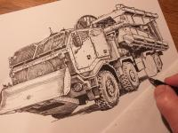 Mostní automobil AM-70 EX