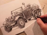 Tatra 26/30 - perokresba