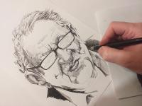Miloslav Stingl - perokresba