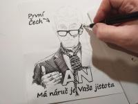 Babiš - karikatura