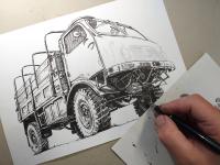 Tatra 805 - perokresba