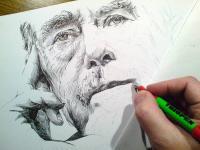 Václav Havel - začátek perokresby