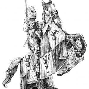 Rytíř na koni