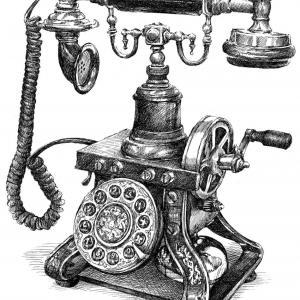 Telefon - retro
