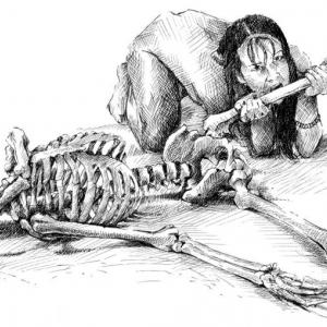 Smrt, lebka, smrťák