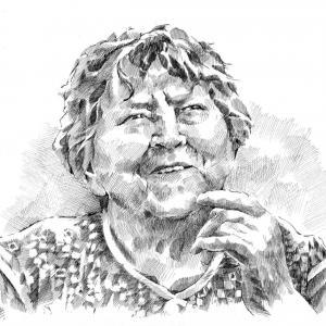 Portrét paní