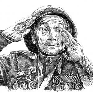 Veterán války, voják
