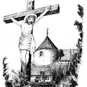 KOSTEL SVATÉ BARBORY  panny a mučednice v Častohosticích
