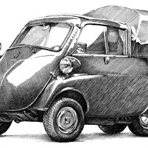 BMW Isetta 300 Pickup