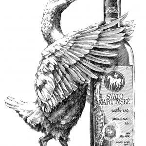 Svatomartinská husa a Svatomartinské víno