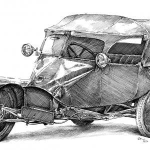 Scott Sociable Tricar KV2507 - 1923