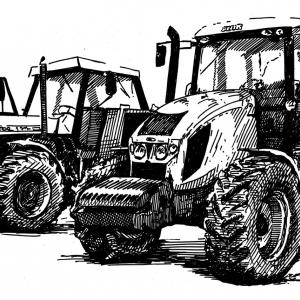 Zetor 12140 a Zetor Forterra 140 HSX