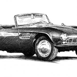 BMW 507 1956-1959