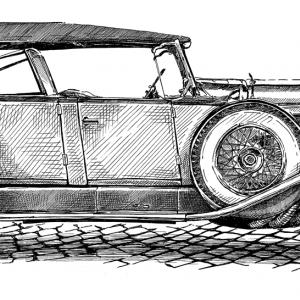 Duesenberg - 1929, Model-J