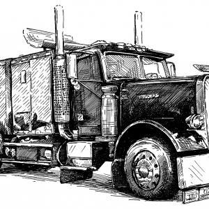 Freightliner FL 495