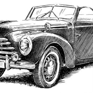Škoda 1101 roadster