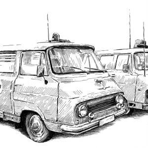 Škoda 1203 a TAZ Š1203M