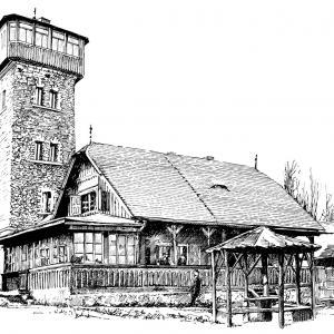 Čerchova rozhledna a chýše Pasovského, Kurzova věž