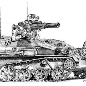 Wiesel (vojenská housenka - militärisches Kettenfahrzeug)